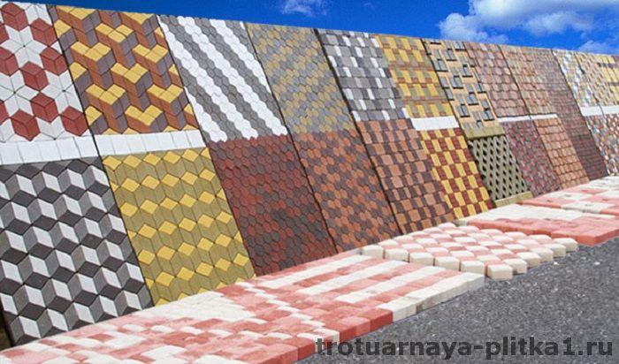 Выбор плитки для дорожек на даче в Наро-Фоминске