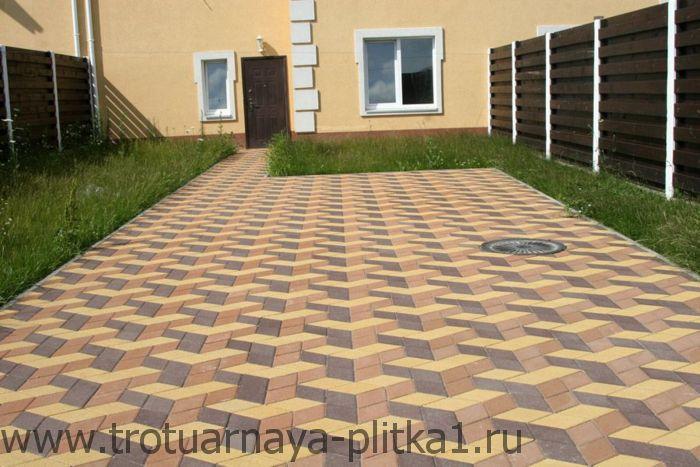 Тротуарная плитка и брусчатка формы фигурная в Наро-Фоминске