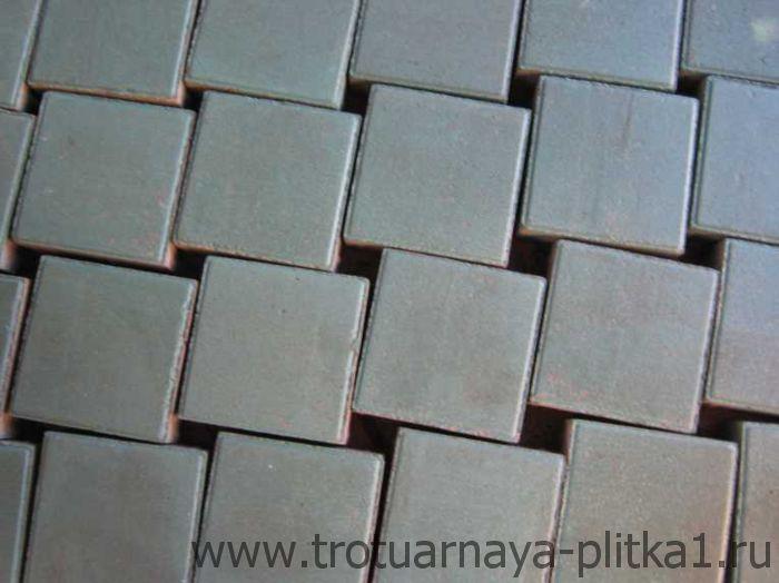 Квадратная плитка брусчатка в Наро-Фоминске