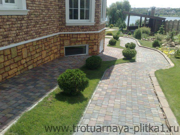 Тротуарная плитка для дорожек на даче - как выбрать в Наро-Фоминске