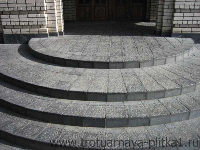 Ступеньки из тротуарной плитки - ключевые преимущества в Наро-Фоминске - лаконичная элегантность