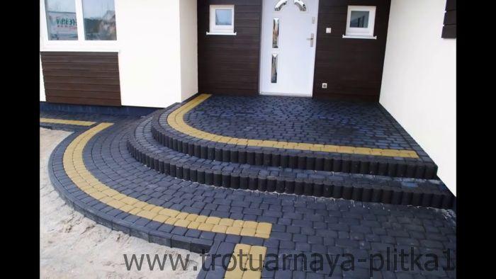 Варианты укладки плитки для строительства лестницы в Наро-Фоминске