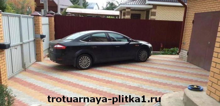 Требования, которым должна соответствовать брусчатка для парковки в Наро-Фоминске
