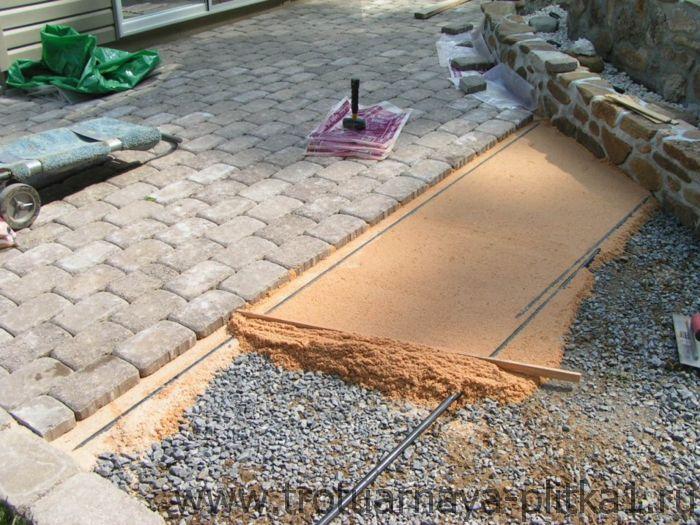 Изготовление тротуарной плитки - какие нужны инструменты и материалы в Наро-Фоминске