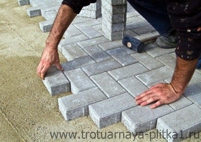 Тротуарный камень от производителя в Наро-Фоминске