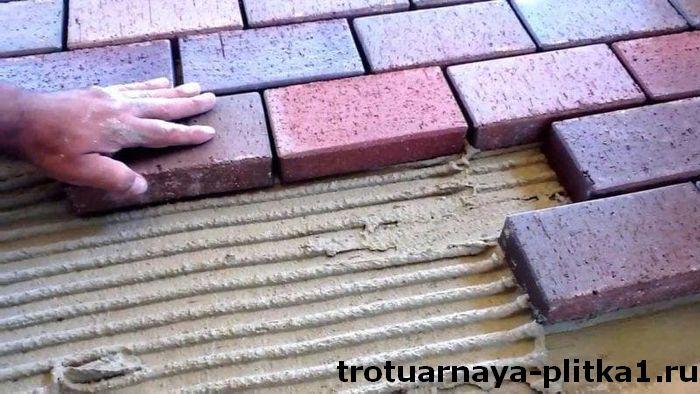 Подготовка необходимых инструментов и материалов для укладки тротуарной плитки в Наро-Фоминске