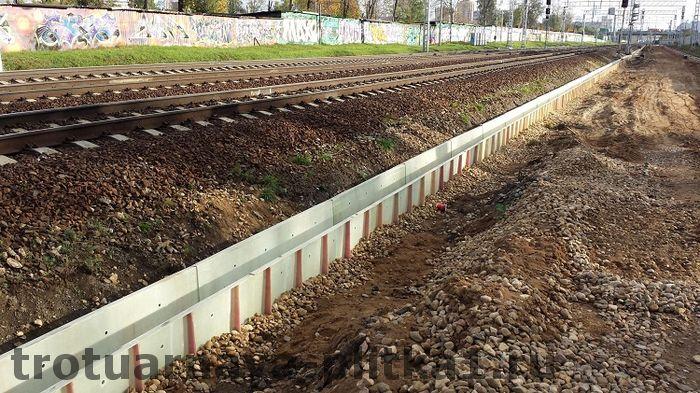 Установка бетонных водостоков под ключ в Наро-Фоминске