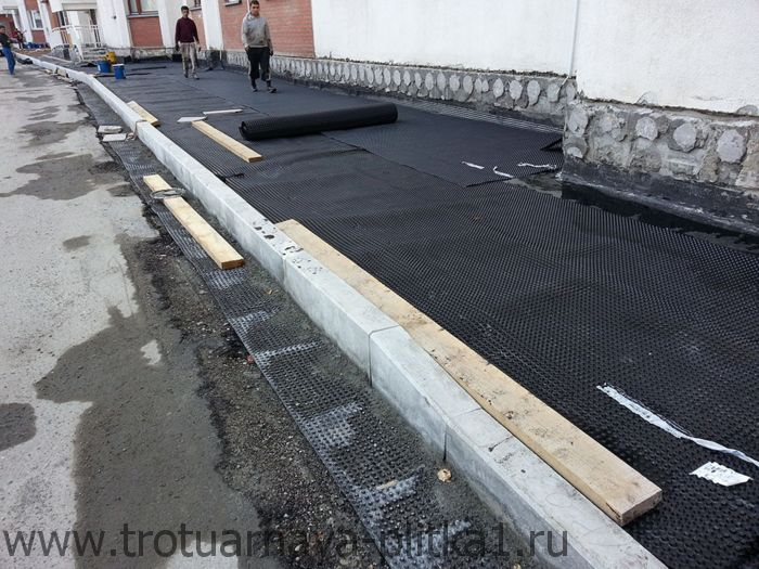 бордюр для тротуарной плитки в Наро-Фоминске