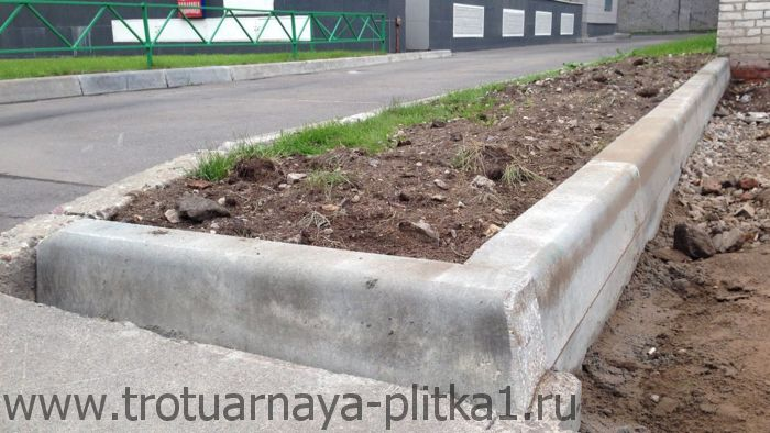 вибролитые и вибропрессованные бордюры в Наро-Фоминске