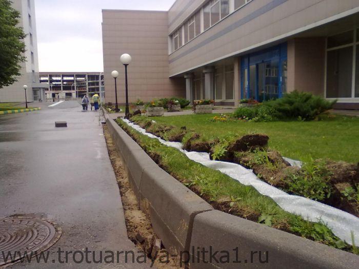 Преимущества профессиональной установки бордюра в Наро-Фоминске