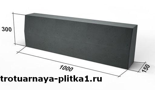 Вес бордюра в Наро-Фоминске