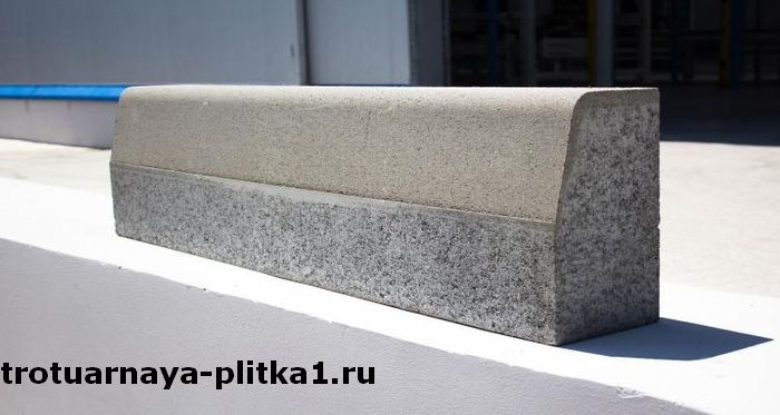 Сколько весит бордюрный камень магистральных элементов в Наро-Фоминске