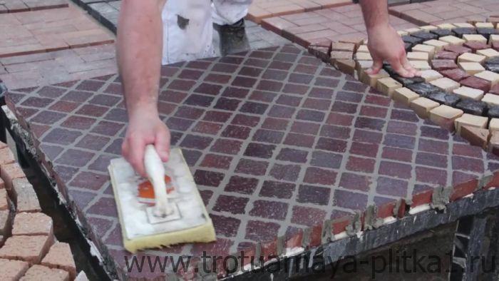 Чем затереть швы на тротуарной плитке - выбираем инструмент в Наро-Фоминске