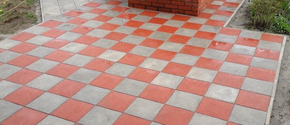 Тротуарная плитка 30 мм - преимущества