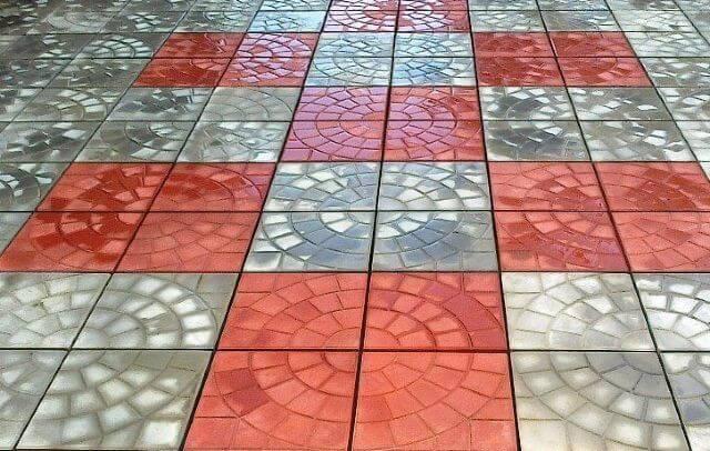 Виды тротуарной плитки 30 мм